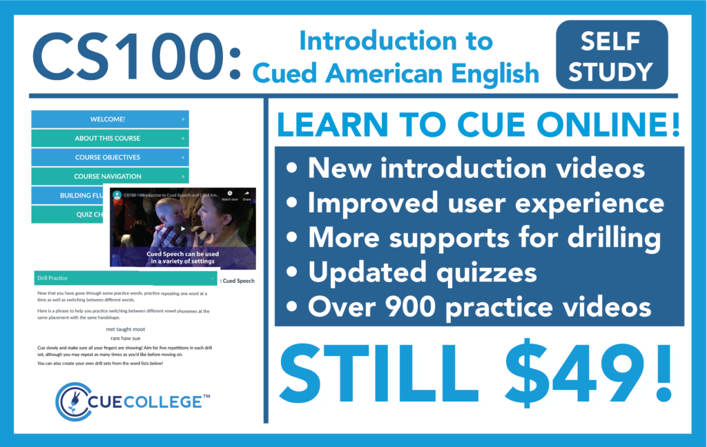CS100 - Learn to Cue