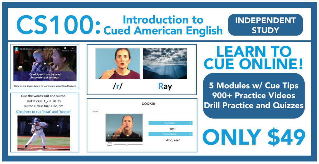 CS100: Introduction to Cued American English