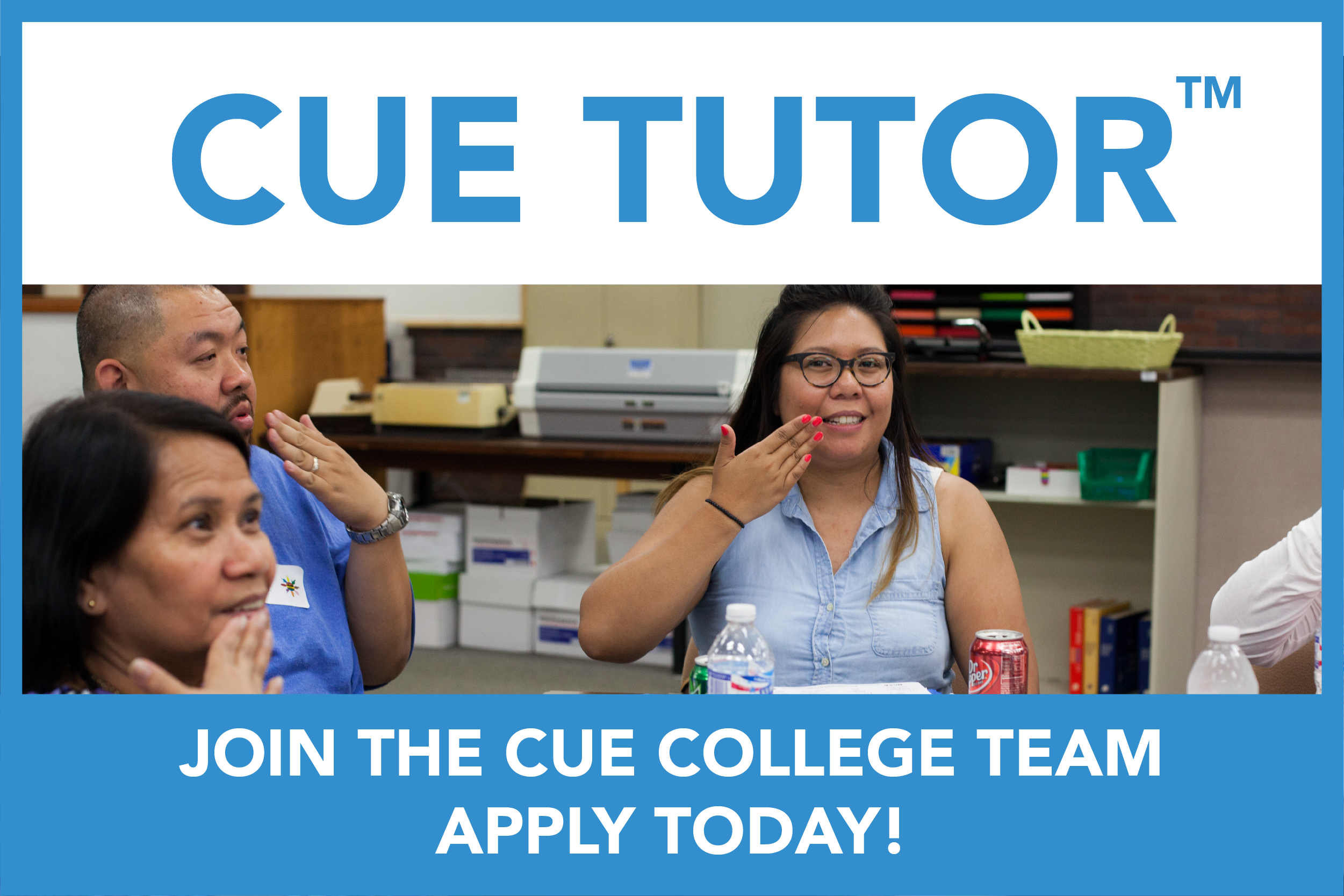 Cue Tutor - Join the Team Today